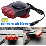 BESTVECH 12V Car Heaters Three Holes Defrosting Snow Demister Car Heating Machine 15