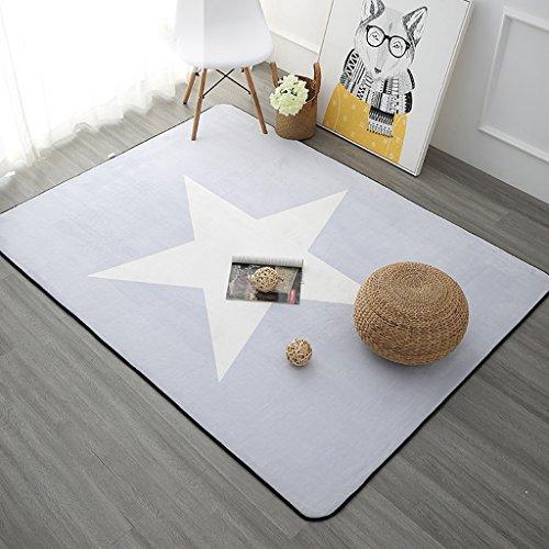 TIAMO Home Store Alfombra Sala de estar nórdica Estilo europeo Simple Moderno Dormitorio Completo Mesa de centro Sofá Habitación Inicio Rectángulo Manta de cama