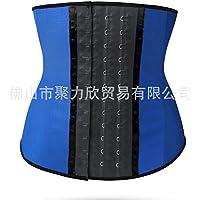 HL-el cinturón de escultura corporal - Una corte ajustable de tres cuerpo viga - cinturón,blue,XS