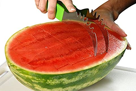 Kitchen Samourai Watermelon Slicer As Seen on TV Easily Slices