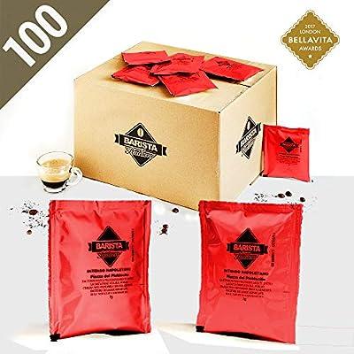 Barista Italiano 100 ESE Coffee Paper Pods 44mm