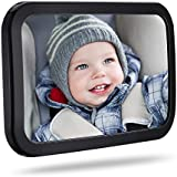 Mirror Baby, Topelek Baby Rear View Mirror View Back Seat Mirror Rear View Mirror Rear View Mirror Car Car Rearview Mirror with Shatter-proof Material for Baby Child Watching