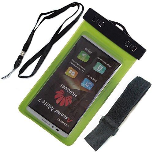 ZeWoo Sac Etanche Lumineuse Smartphone En Moins De Portable De 5.7 Pouces Universelle - Compatible avec Apple iPhone 3gs / 4 / 4S / 5 / 5S / 5C / 6 / 6 Plus / iPod Touch 4(3.5 Pouces) / Touch 5(4 Pouc 02002