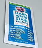#10: B&C (Made in USA) Stain & Scale Remover Shine Improve Cleaner for Limescale, Calcium Scale, Mineral Deposits, Rust, Burnt, Hard Water Stain, Water Mark, White Stain in Home Kitchen Bathroom Shower - Specially made for Glass, Granite, Chrome, Stainless Steel, Window, Tap, Bathroom Fittings, Faucet, Tiles, Floor, Washbasin, Sink, Car Windshield - Ecofriendly, Biodegradable & Safe Cleaning Powder - Useful on all Surface & Material ( Net Content ~ 14 gms) (1)