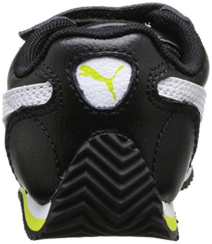 Fieldsprint Puma Kinder Sneakers L Unisex White Noir Black Sulphur V Schwarz KIDS Spring SddBrw