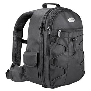 Mantona Azurit Fotorucksack für SLR DSLR Kamera mit Halterung Stativ, Kamerarucksack, Camera Tasche groß, Backpack schwarz (B00DDZ8600) | Amazon Products