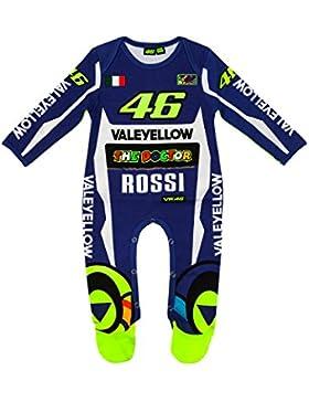 Valentino Rossi VR46 Moto GP Blau Replica Baby Insgesamt Offiziell 2018