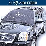 Auto Frontscheibenabdeckung von Great Barrier | Große Scheibenabdeckung 145 x 188 cm für die Windschutzscheibe, gegen Schnee, Eis, Frost und Sonne | Magnet-Fixierung