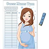 Baby Shower Game - Guess Mums Tum