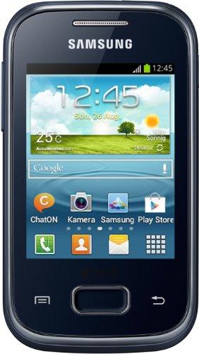 Samsung Galaxy Pocket Plus Smartphone (7,1 cm (2,8 Zoll) Touchscreen, Quad-Band, 2 Megapixel Kamera, 4GB interne Speicher, SD-Kartenslot) schwarz