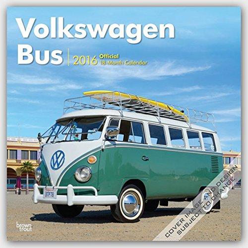 Preisvergleich Produktbild Volkswagen Bus 2016 - VW Bully - 18-Monatskalender: Original BrownTrout-Kalender [Mehrsprachig] [Kalender] (Wall-Kalender)