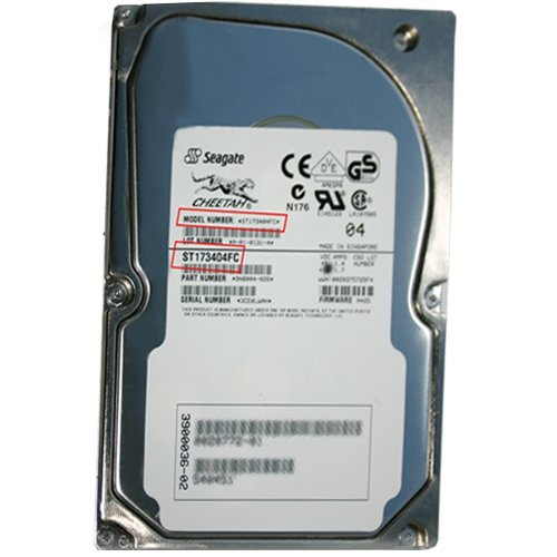73 Gb Cheetah (SEAGATE ST173404FC 73GB CHEETAH FIBRE CHANNEL DRIVE FIRMWARE 0005, 1 WITH FIRMWARE)