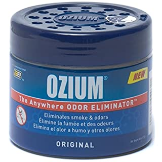 Ozium Smoke & Odors Eliminator Gel. Home, Office and Car Air Freshener 4.5oz (127g), Original Scent by Auto Expressions