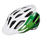 Alpina Kinder Radhelm FB 2.0, white/green, 51-55, 9678111