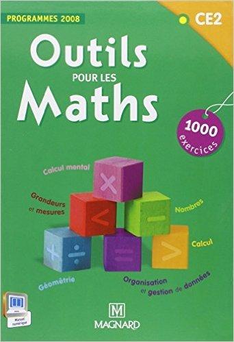 Outils pour les maths CE2 : Programmes 2008 de Patrice Gros,STDI (Cartographer),Marie-Laure Frey-Tournier (Avec la contribution de) ( 21 février 2012 )