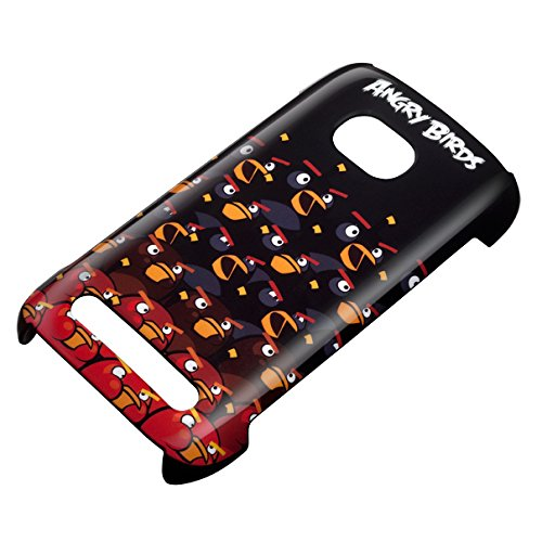 Nokia CC-3036 Angry Bird HardCover schwarz