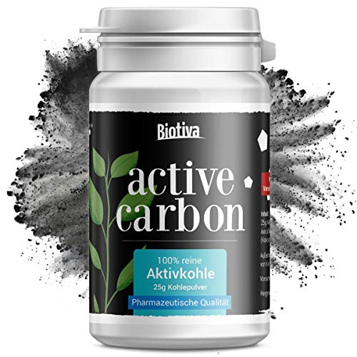 """Aktivkohle """"Active Carbon"""" (25g) - Activated Charcoal Teeth -"""