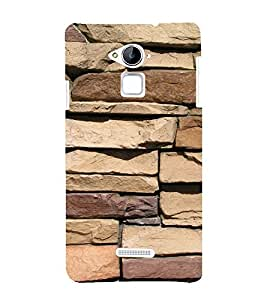 EPICCASE Big stone wall Mobile Back Case Cover For CoolPad Note 3 (Designer Case)