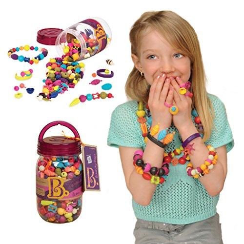 B. Toys 44218 Pop Arty Schmuckset zum Basteln für Kinder, 275 Teile -