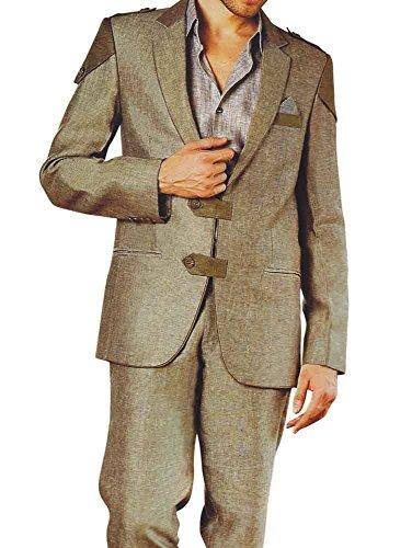 INMONARCH da uomo caccia colore lino Oliva Suit LS30 Olive-drab