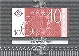 Das Stilvolle Geldgeschenk - ein blanko Gutschein für 10€: Für Dein Sparschwein (nicht vergessen Geld beizulegen) • auch zum direkt Versenden mit ihrem persönlichen Text als Einleger.