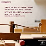 Mozart: Piano Concertos Nos. 18 & 22 [Ronald Brautigam, Michael Alexander Willens] [BIS: BIS2044]