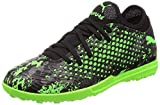 Puma Jungen Future 19.4 TT Jr Fußballschuhe Schwarz Black-Charcoal Gray-Green Gecko, 28 EU