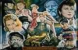 Blechschild Nostalgieschild Stars des Deutschen Films Filmplakat retro Schild vintage Poster