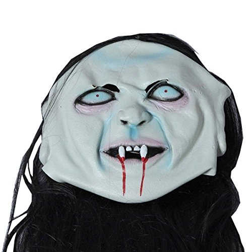 Nihiug Grudge Gossip Ghosts Halloween Dance Horror Ghost Latex Kopfbedeckung Scary Zombie Adult Friendly Ghost Halloween (Kostüme Grudge The Halloween)