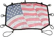 Rugged Ridge Hardtop Sun Shade, Front, Flag; 07-18 Jeep Wrangler JK/JKU, 13579.20