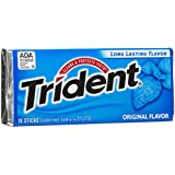 Trident Sugar Free Gum, 18 Stick (Pack of 2)