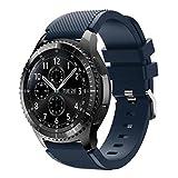 Armband für die Armbanduhr Samsung Gear S3Frontier, weiches Ersatz-Sportarmband aus Silikon für Samsung Gear S3Fro