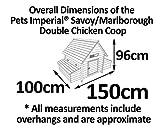 Pets Imperial® – Hühnerstall Marlborough/Savoy – groß – für 6 bis 8 Hühner - 4