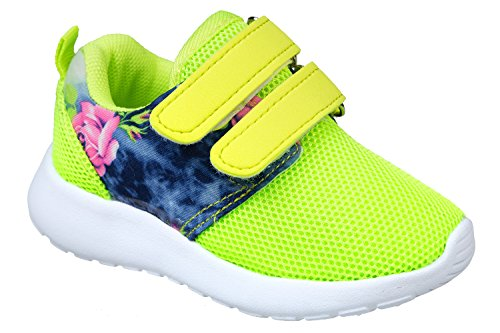 gibra, Sneaker bambine Verde (Verde fluo)