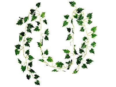 Sumchimamzuk 2M Efeu Girlande Efeubusch Efeugirlande Efeuranke künstliche Kunstpflanze Artificial Plant von sumchimamzuk auf Du und dein Garten