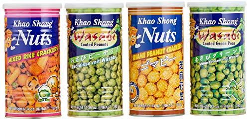 Khao Shong Japanese Mix Mischkarton, 4 Sorten, 990 g -