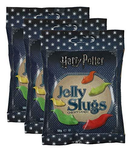 Jelly Belly - 3er Pack Slugs Harry Potter Schnecken (3 x 59 g)