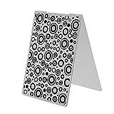 Broadroot Carpetas de repujado de plástico para bricolaje, tarjetas, decoración, álbumes de recortes, manualidades, regalo (campana de juego)