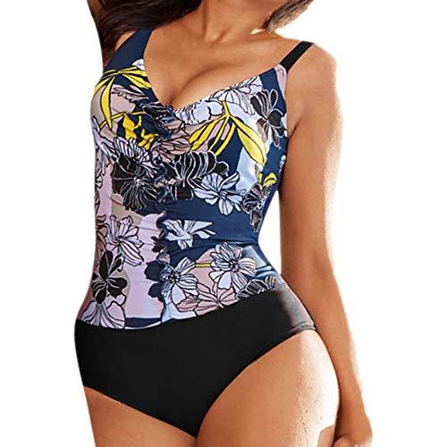 05c5582c7e Swimwear Une pièce Pois imprimé été 2019 élevée Bandage Drawstring  Confortable décontracté Couleurs uni élastique Haute