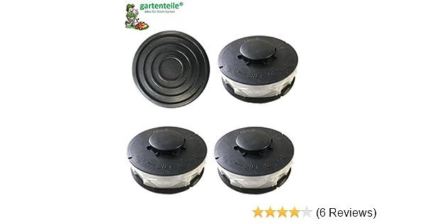 GLR 450//1-6 3 x Ersatzfadenspule Gardenline Elektro Rasentrimmer GLR 451-459