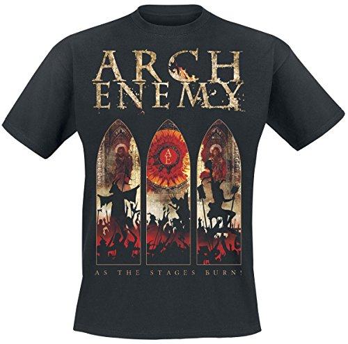 Arch Enemy As The Stages Burn T-Shirt schwarz Schwarz
