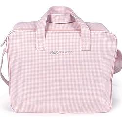 Pasito a Pasito - Maleta , color vichy rosa