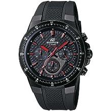 CASIO Edifice EF-552PB-1A4VEF - Reloj de caballero de cuarzo, correa de resina color negro