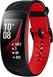 "Samsung Gear Fit2 Pro 1.5"" SAMOLED GPS (satellitare) Nero, Rosso smartwatch"