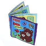 FACILLA® Baby Stoffbuch Buch Spielzeug Bilderbuch Spielbuch Bär Zahlen Englische