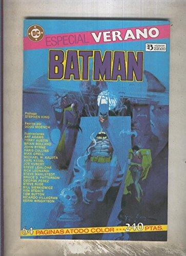 Batman especial verano: Resurreccion mortal (prologo de Stephen King)