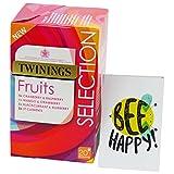 TWININGS - Kit Degustación de Tés de Frutas - 4 Sabores: Arándanos - Best Reviews Guide
