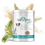 Ida Plus - Seealgenmehl (500 g) für Hunde, Katzen und Pferde - Hoher Gehalt an Mineralien, natürliche Jodquelle – Futterergänzung – 100% Naturprodukt – Barf
