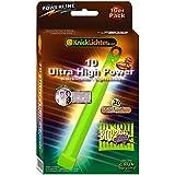 10 Palito luminoso flexible verde! ULTRA ALTA POTENCIA! Extremadamente brillante. Extra grueso. 150 x 15 milímetros. Packs muy económicos. De última generación. Producido bajo su propio sello.