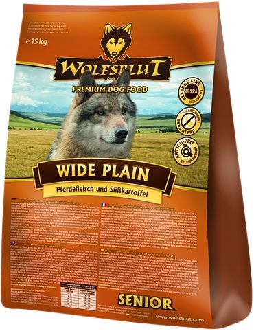 Wolfsblut Wide Plain Senior, 1er Pack (1 x 1.5 kg) (Senior Schritt)